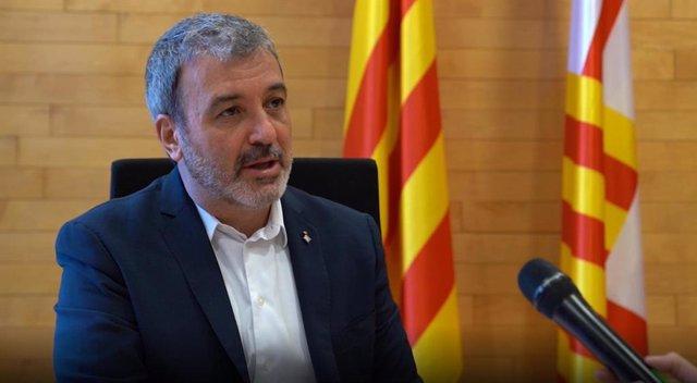El primer teniente de alcalde, Jaume Collboni