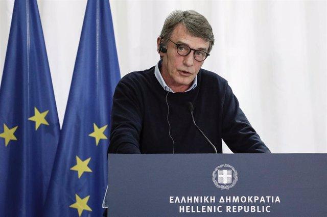 El presidente del Parlamento Europeo, David-Maria Sassoli