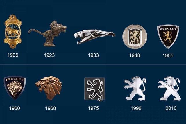 Motor.- El león de Peugeot, el logo más antiguo de la automoción cumple 170 años