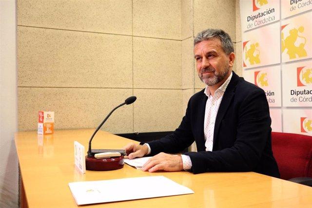 El presidente del Instituto Provincial Social de Córdoba (IPBS) de la Diputación de Córdoba, Francisco Ángel Sánchez, en una foto de archivo