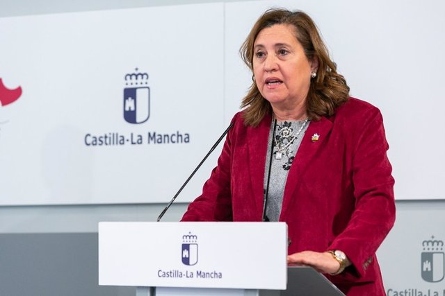 La consejera de Educación, Cultura y Deporte de Castilla-La Mancha, Rosana Rodríguez