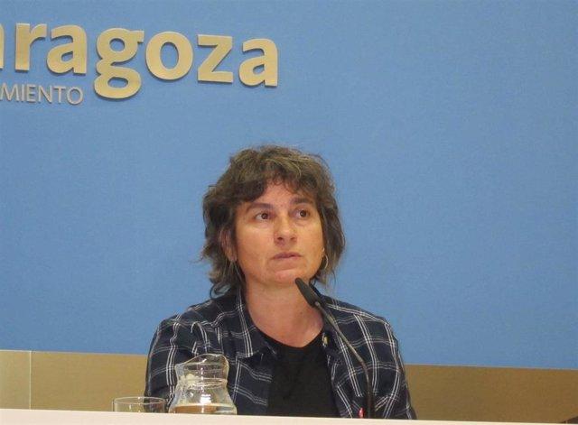 La concejal de Zaragoza en Común en el Ayuntamiento de la capital aragonesa, Luisa Broto.