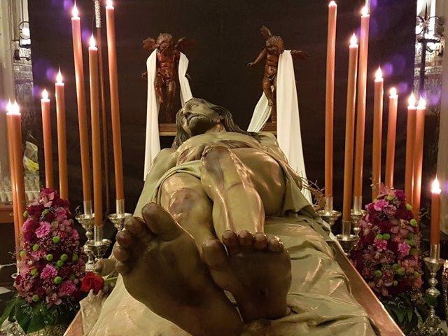 Imagen titular de la Pontificia y Real Cofradía Cristo Yecente y Nuestra Señora de la Soledad de Jaén