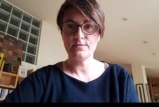 La diputada dels comuns en el Parlament Marta Ribas.