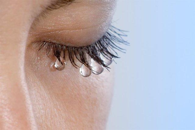 Lágrimas, triste, llorar, llorando, ojo , pestañas
