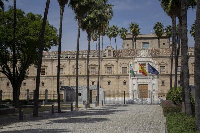 Imágenes de recurso del Parlamento de Andalucía