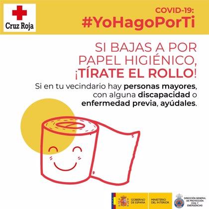 Protección Civil y Cruz Roja piden seguir ayudando a los vecinos más vulnerables