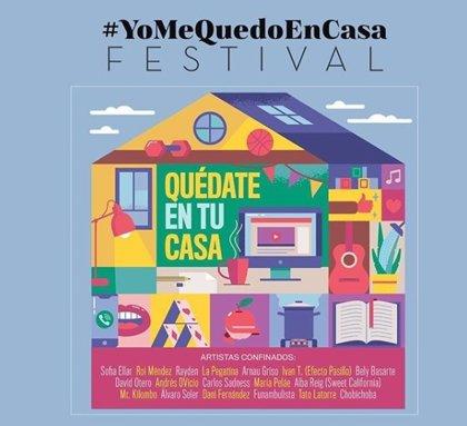 'Quédate en tu casa', el optimista himno oficial del festival #YoMeQuedoEnCasa que arrasa en Youtube