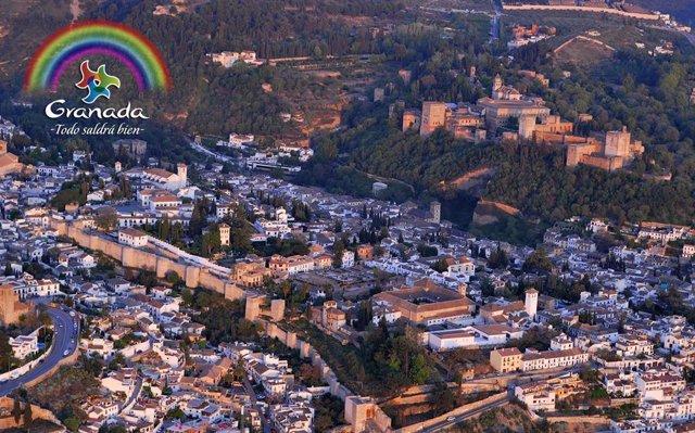 Campaña promocional 'Disfruta Granada desde casa'