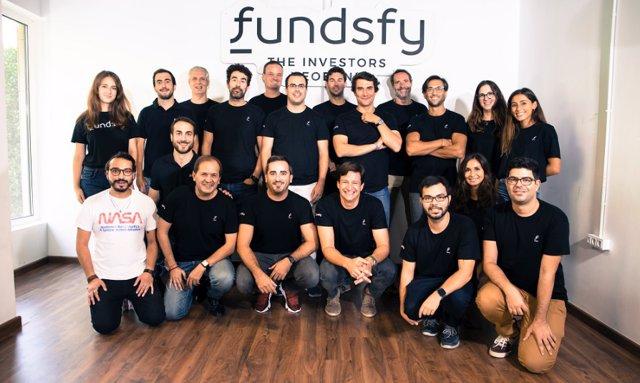 El equipo de Fundsfy