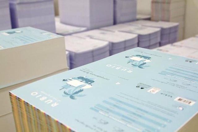 Cuadernillos Rubio en elaboración