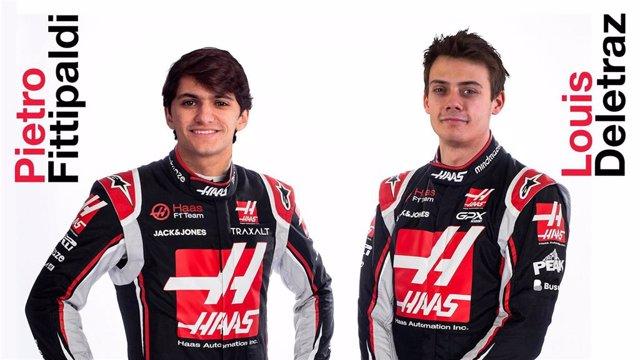 Haas incorpora a Pietro Fittipaldi y Louis Deletraz