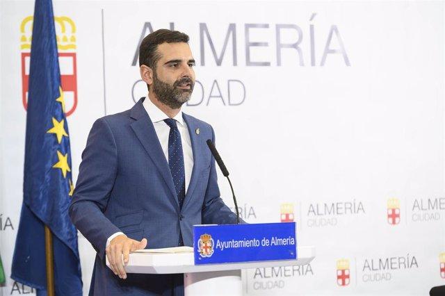 El alcalde de Almería, Ramón Fernández-Pacheco (PP)