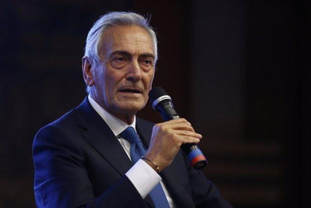 """Fútbol.- La Federación Italiana espera volver a la acción en mayo y que """"la fech"""