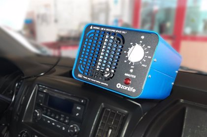 Alquiber desinfecta con ozono sus vehículos para evitar contagios por coronavirus