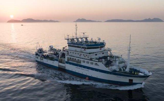 Buque oceanográfico 'Miguel Oliver'