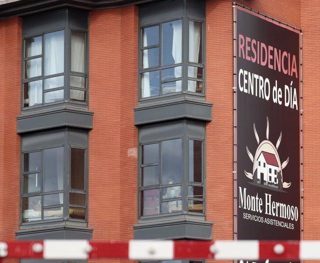 Residencia de ancianos y centro de día Monte Hermoso de Madrid.