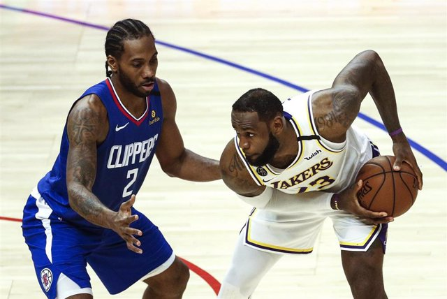 Basketabll NBA - LA Clippers vs Los Angeles Lakers