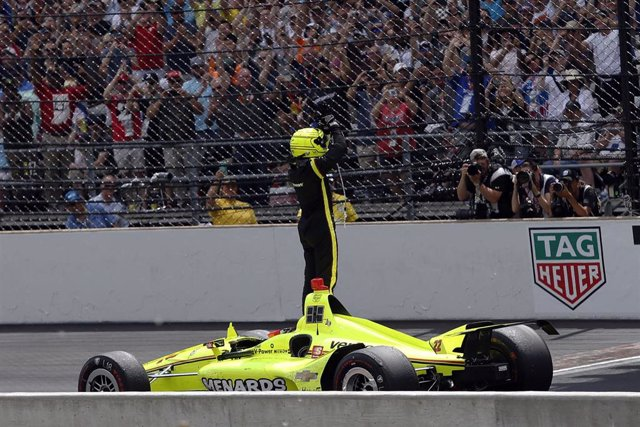 Simon Pagenaud wins Indy 500