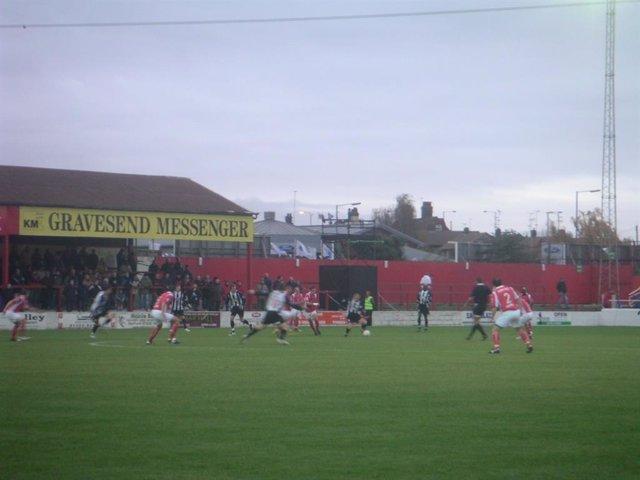 Ebbsfleet United Football Club, de la Conference National