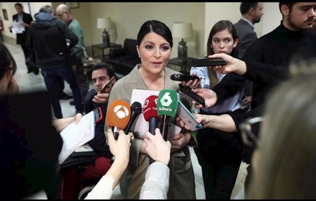 La diputada por Granada y secretaria general del Grupo Parlamentario Vox, Macarena Olona