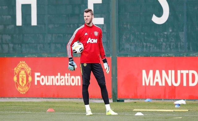 UEFA Europa League - Manchester United FC training