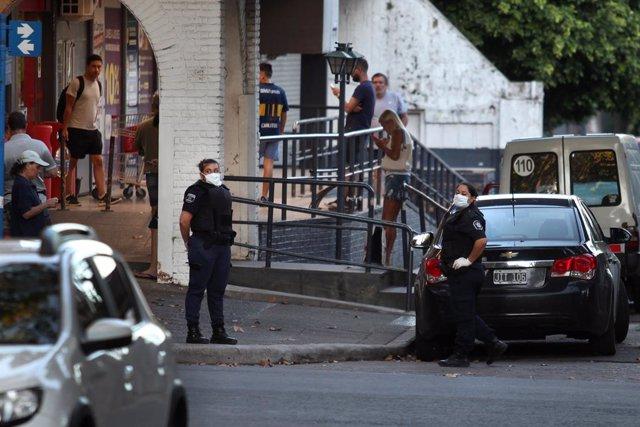 Coronavirus.- Más de 4.800 personas han sido detenidas en Argentina por saltarse