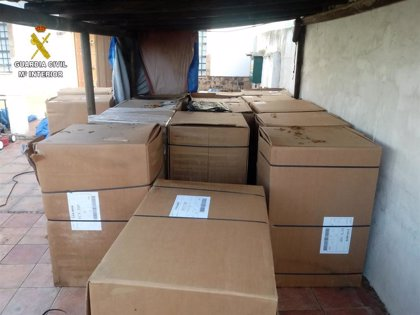 Detenido un matrimonio de Almensilla (Sevilla) por vender tabaco de contrabando desde un quiosco