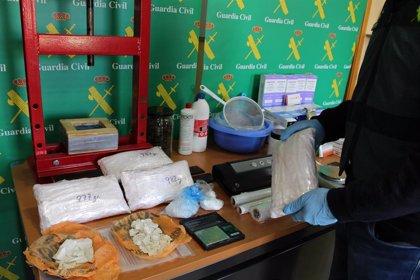 Desarticulado un grupo de traficantes, con cuatro detenidos y 20 kilos de hachís intervenidos