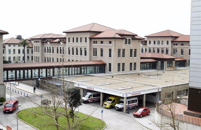 Vista general del Hospital Universitario Marqués de Valdecilla
