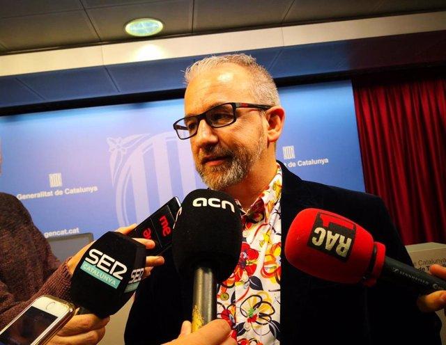 El secretari general de Treabajo, Josep Ginesta (arxiu)