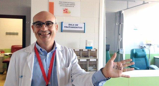Dr. Joaquín Martínez, Jefe de Hematología del Hospital 12 de Octubre y director de la Unidad CRIS de Tumores Hematológicos