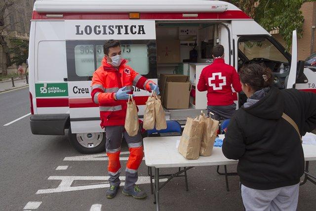 Plan Cruz Roja Responde: Cruz Roja Redobla Esfuerzos Y Recursos Frente Al Covid19 En La C. Valenciana
