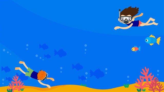 Ilustración de la serie 'El Océano en casa'