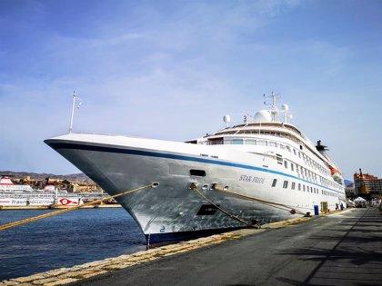 La crisis del coronavirus cancela diez escalas de cruceros en Almería con un impacto turístico de unos 120.000 euros