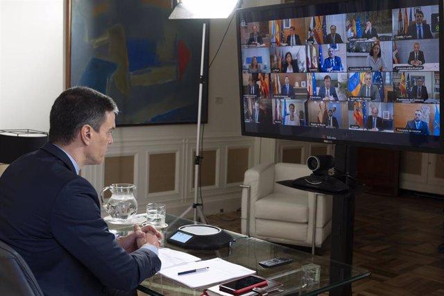 España.- Sánchez comunica a Casado que comparecerá el miércoles en el Congreso sobre el estado de alarma