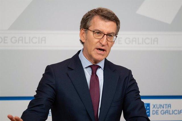O Titular Do Goberno Galego Na Rolda De Prensa Posterior Ao Consello Da Xunta