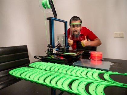 MediaMarkt dona su stock de impresoras 3D, usadas para hacer mascarillas y viseras, para frenar al coronavirus