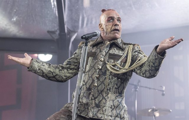 13 July 2019, Frankfurt/Main: German singer Till Lindemann of the German rock band Rammstein