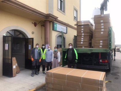 Salud habilita 40 plazas en El Neveral con mobiliario cedido por el Ayuntamiento de Jabalquinto