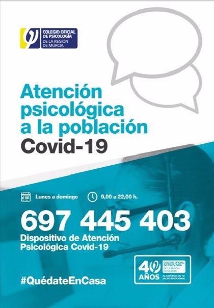El Colegio de Psicólogos de la Región habilita un dispositivo de atención gratuita para toda la población