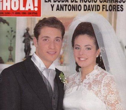 ¿Quieres saber cuál fue la reacción de Antonio David Flores al ver a Rocío Carrasco el día de su boda?