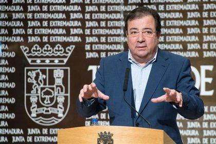 """Vara se muestra """"muy preocupado"""" por la incidencia del coronavirus en el oeste de la provincia de Cáceres"""