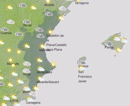 La Comunitat Valenciana vivirá un sábado nublado con posibilidad de precipitaciones y nevadas por encima de 700 metros