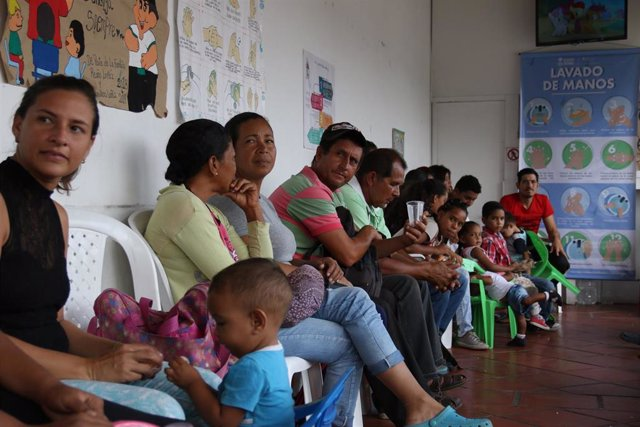 Campaña de promoción de higiene de Acción contra el Hambre en Colombia