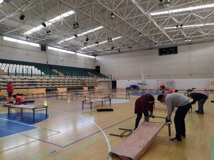El pabellón deportivo de Torre del Mar alojará a personas sin hogar mientras dure el estado de alarma