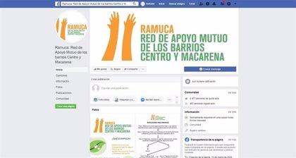 Voluntarios de Sevilla se organizan en Ramuca para atender las necesidades de personas vulnerables por el coronavirus