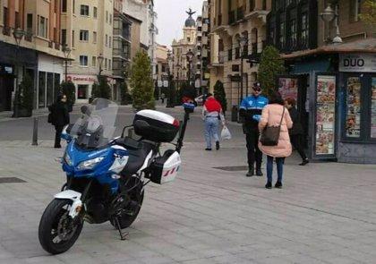 El número de denuncias de la Policía Municipal de Valladolid desciende hasta las 55