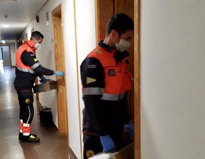 Los bomberos de Salamanca suman casi 40 intervenciones relacionadas con la pandemia