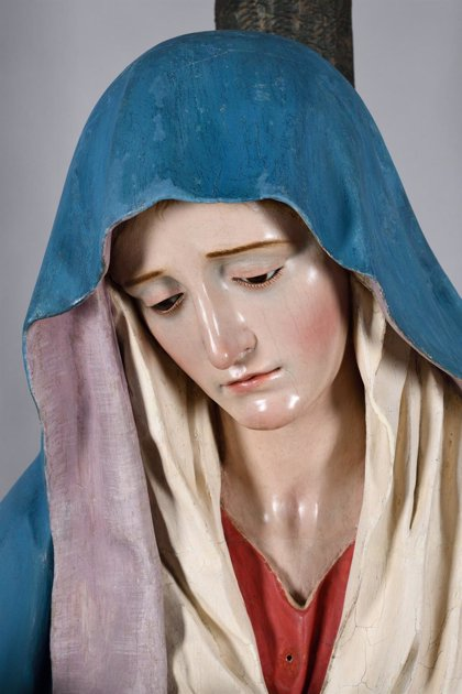 Concluye la restauración de la Virgen de las Angustias de Béjar (Salamanca)